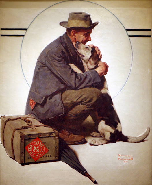 The Homecoming by Norman Rockwell