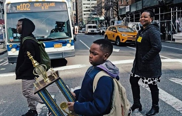Eight-Year-Old Nigerian Boy Becomes Chess Champion In New York .