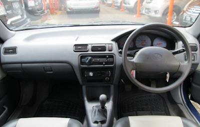 Interior Toyota Soluna 1997 1998 1999