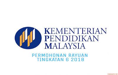 Permohonan Rayuan Tingkatan 6 2018
