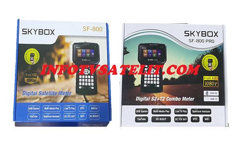New Update SW Firmware Satfinder Skybox SF-800 and SF-800