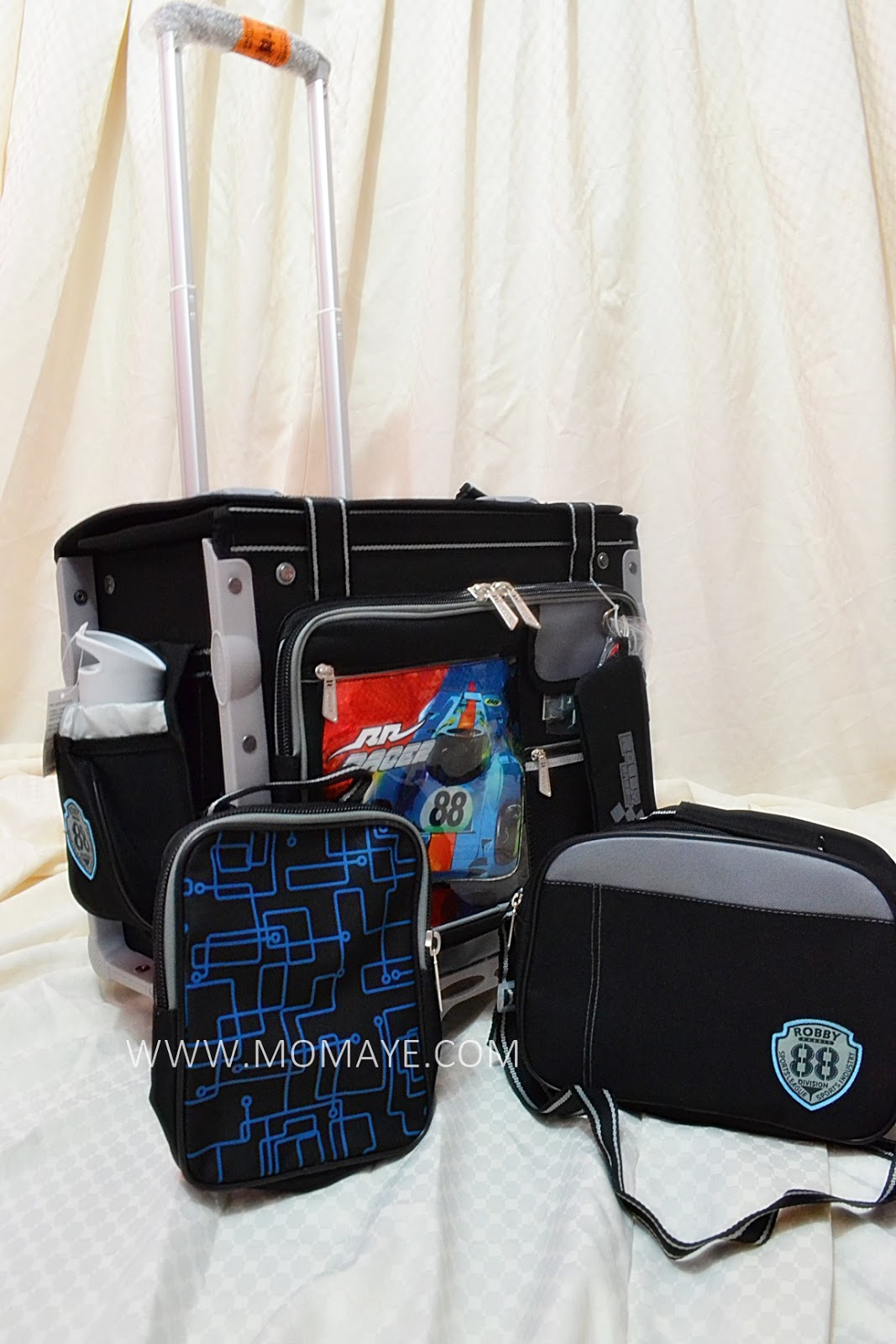 Matthew's Robby Rabbit Trolley Bag