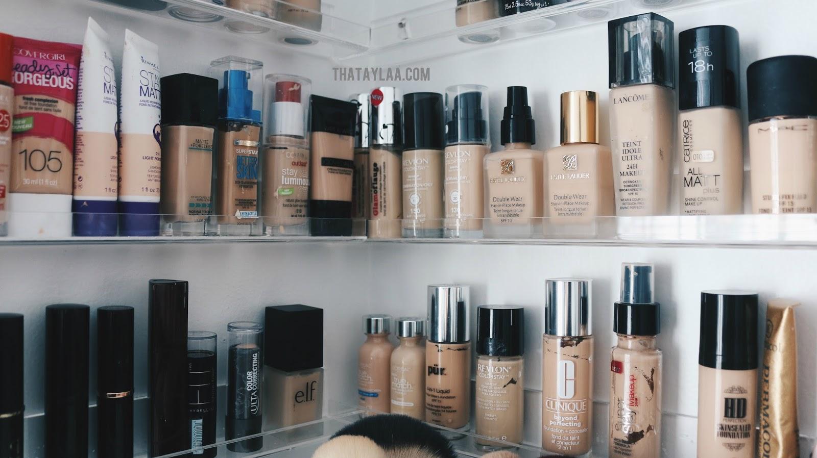 Work Space & Makeup Room Tour 2017 - thataylaa on Make Up Room  id=31241