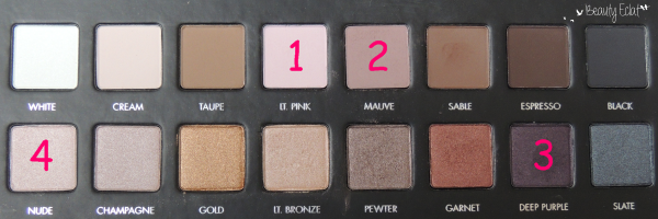 tutoriel maquillage prune rose