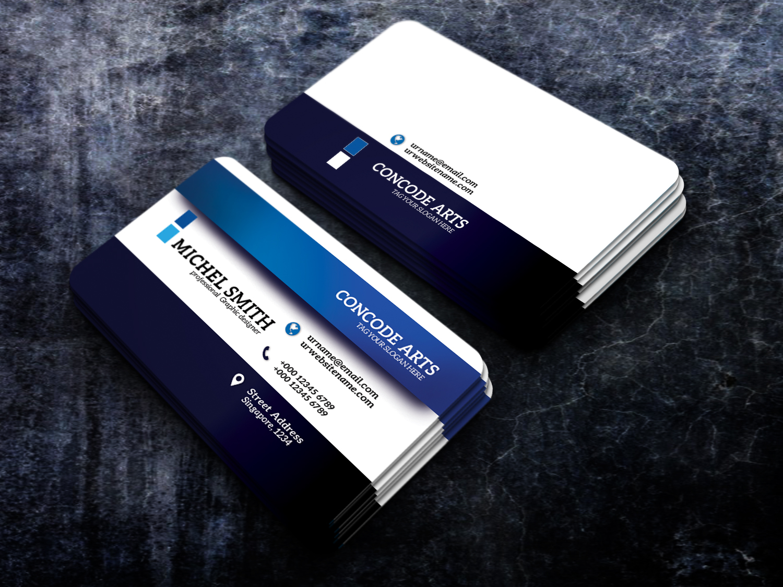 free download blue colour business cards vol 91 ...