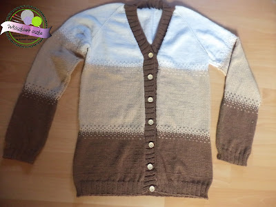 sweter ala ombre