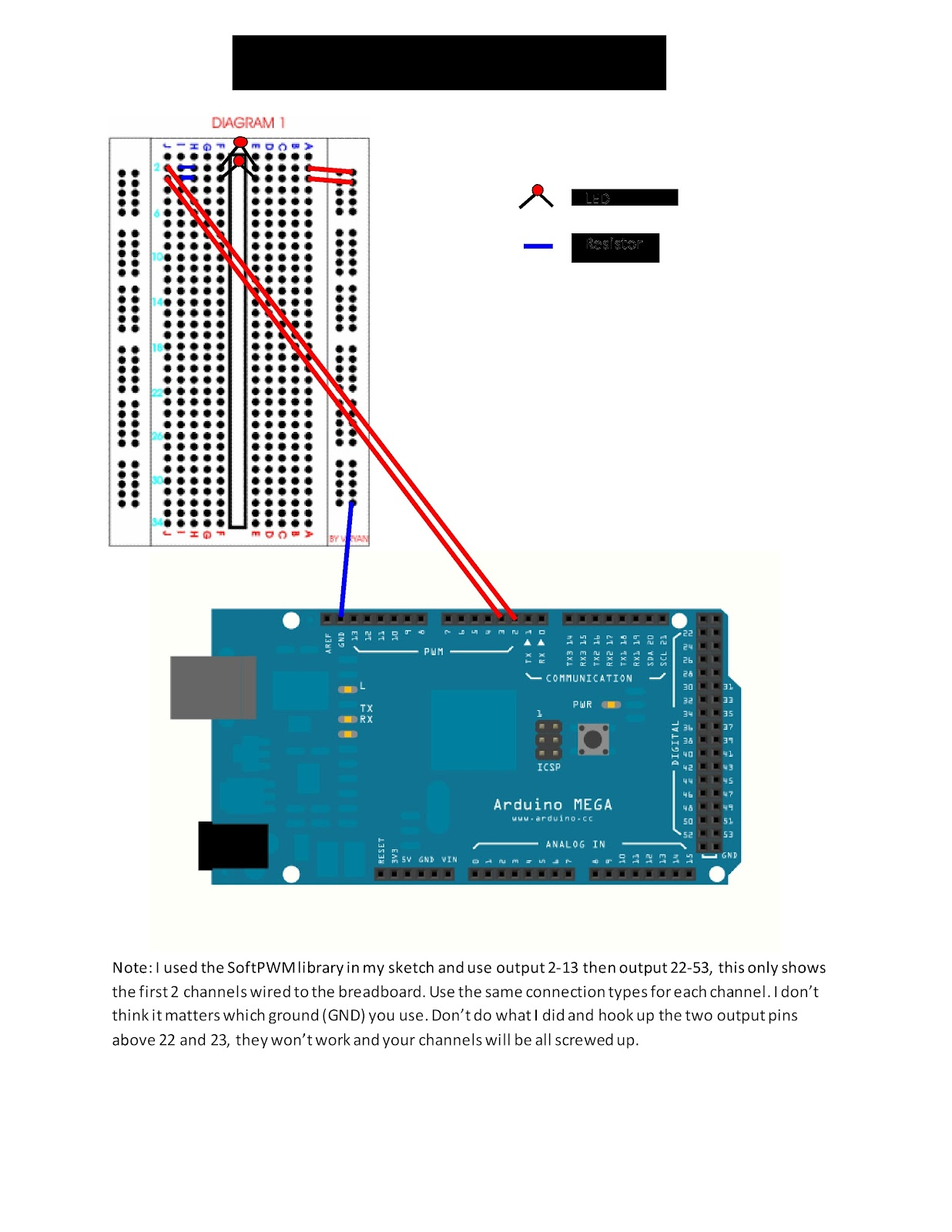 Joystick for computer on arduino