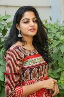 Telugu Actress Nikhila Vimal Latest Stills in Anarkali Dress  0146.JPG