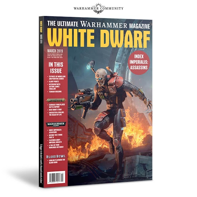 White Dwarf Preview: Imperialis Assassins and More.