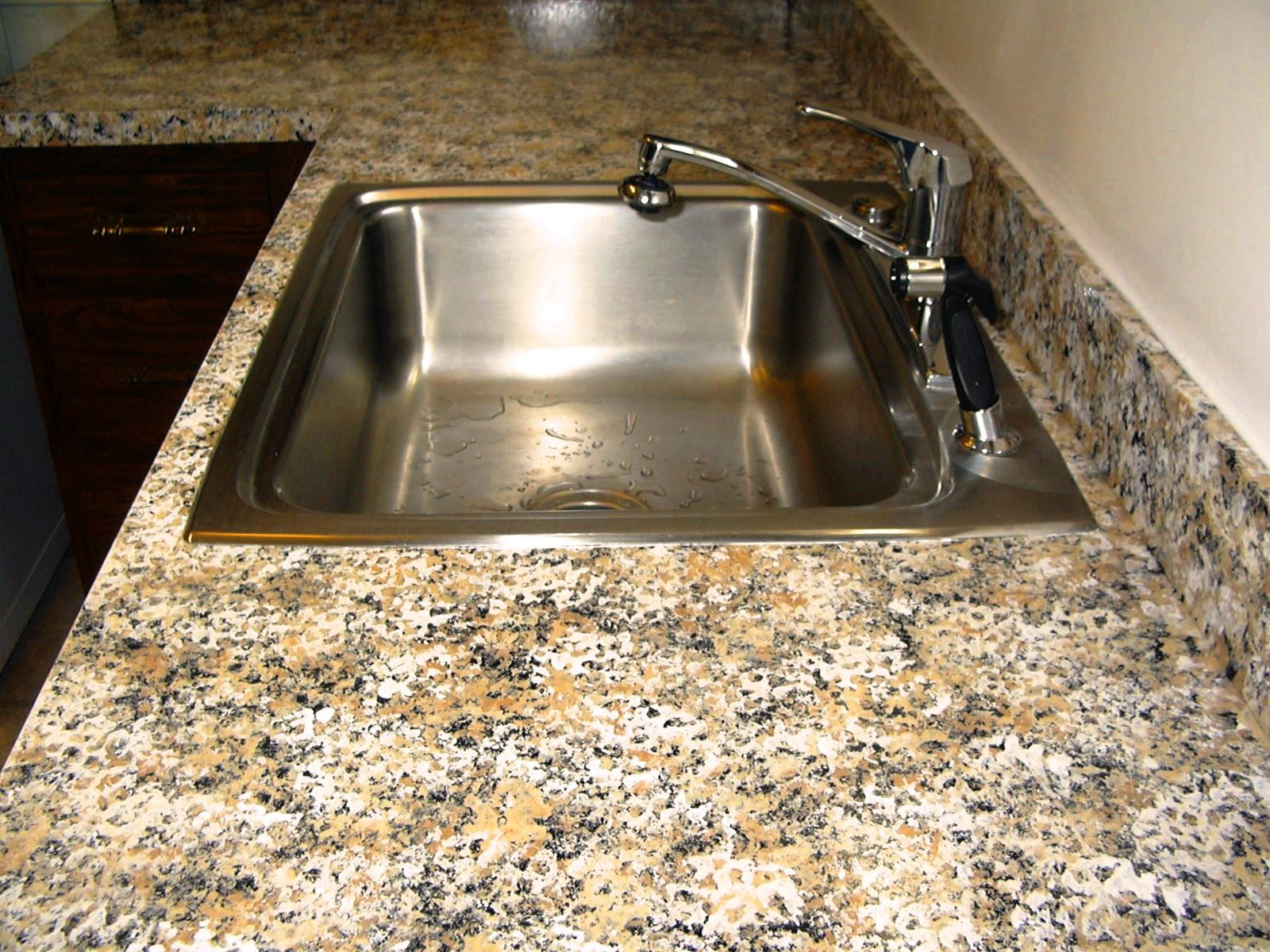 Kennect Our Experience With The Giani Granite Countertop Paint Kit - Bathroom sink paint kit