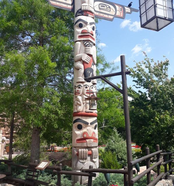 EPCOT World Showcase Canada Totem Pole