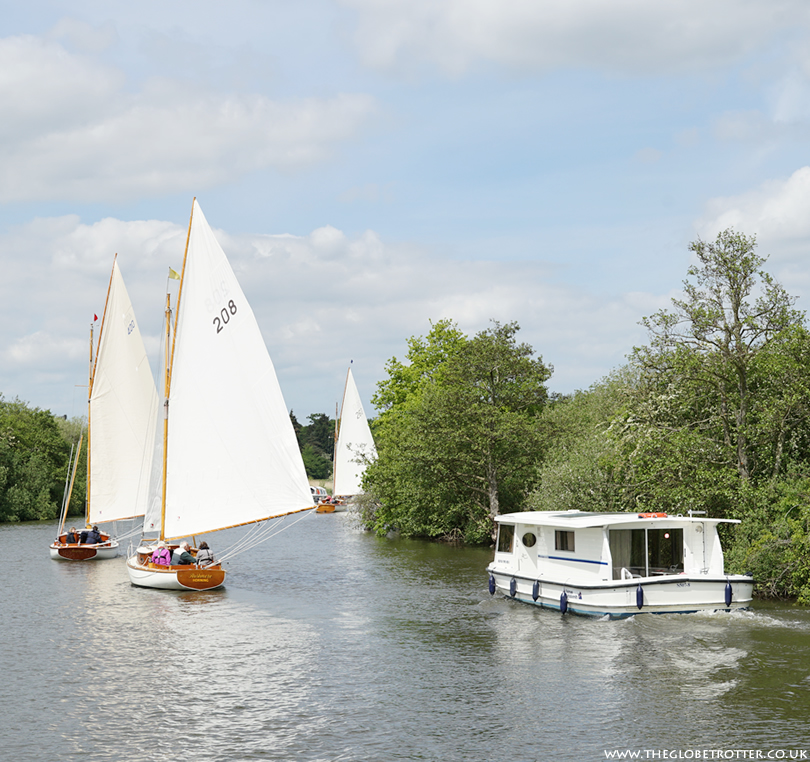 Boating in the Norfolk Broads