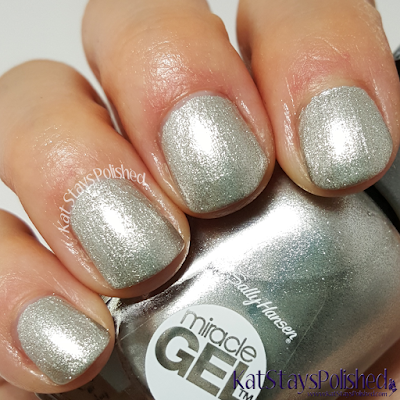Sally Hansen Miracle Gel Winter 2015 - Buffalo Nickel | Kat Stays Polished