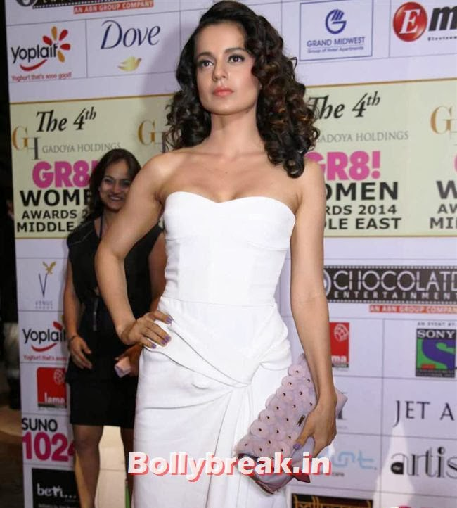 Kangana Ranaut, Shriya, Kangna, Barkha at 4th GR8 Women Awards 2014