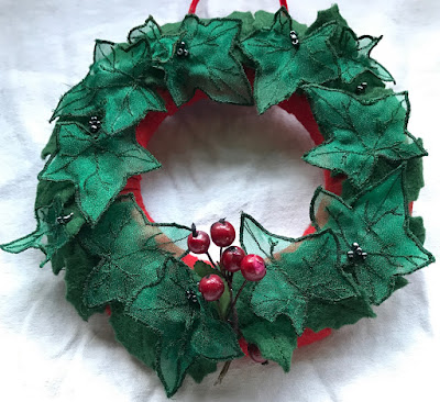 Janet's Christmas wreath
