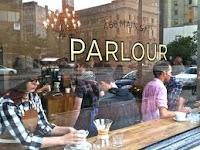 Parlour Coffee Outside