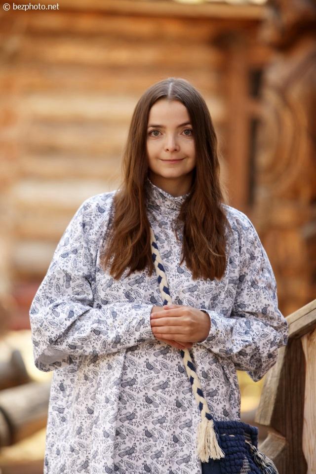 русский стиль в моде фото