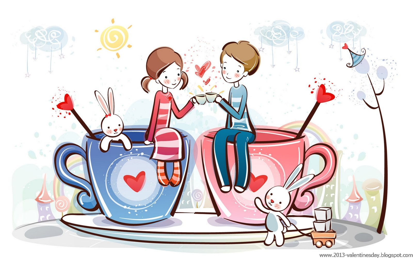 Valentines day Clip Art Collection 2016