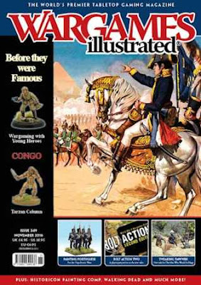 Wargames Illustrated 349, November 2016