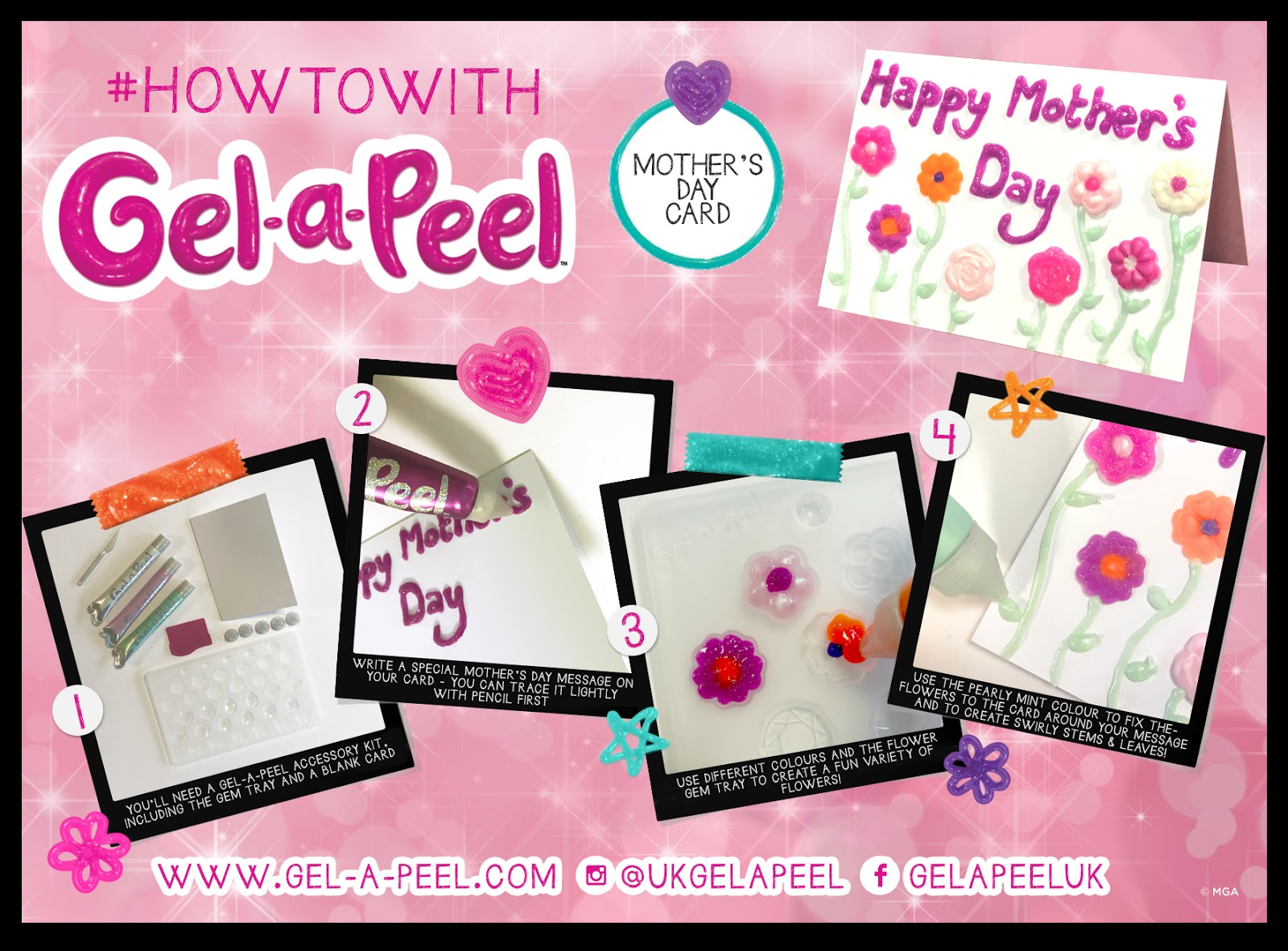 madhouse family reviews mother u0027s day crafts with gel a peel review
