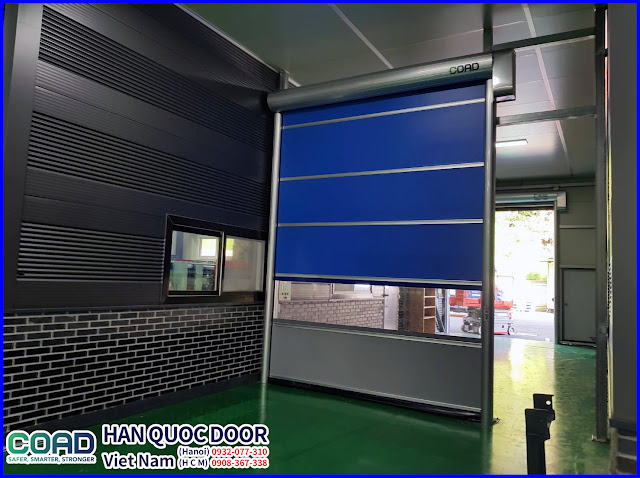 Cửa đóng mở nhanh, cửa cuốn tốc độ cao, cửa siêu tốc, high speed door, COAD