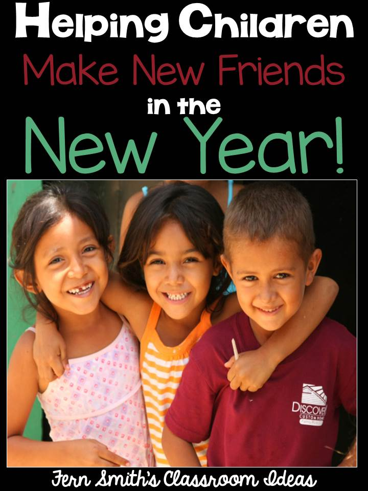 Fern Smith's Classroom Ideas Bright Ideas Blog Hop: Making New Friends in the New Year