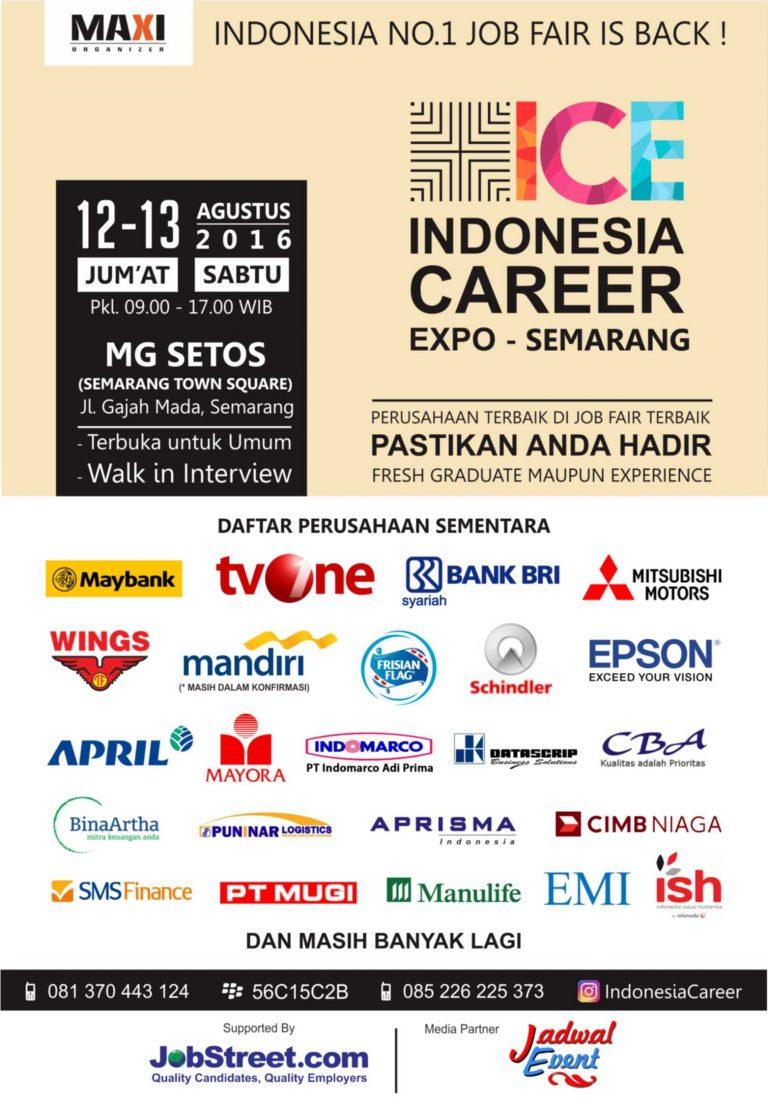Indonesia Career Expo - Bursa Kerja Semarang