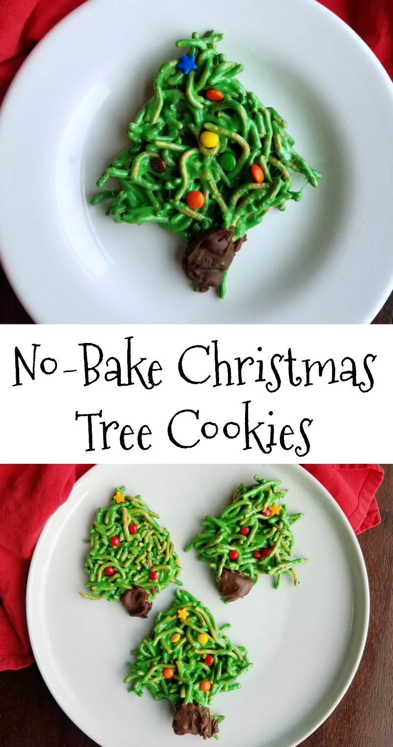 Cooking With Carlee No Bake Christmas Tree Cookies