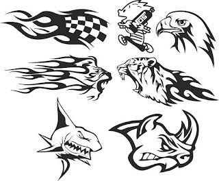 Car Decal Free Vector Download Cdr Eps Svg Dxf