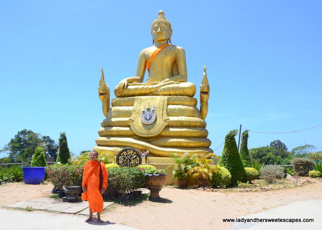 golden Buddha in Phuket