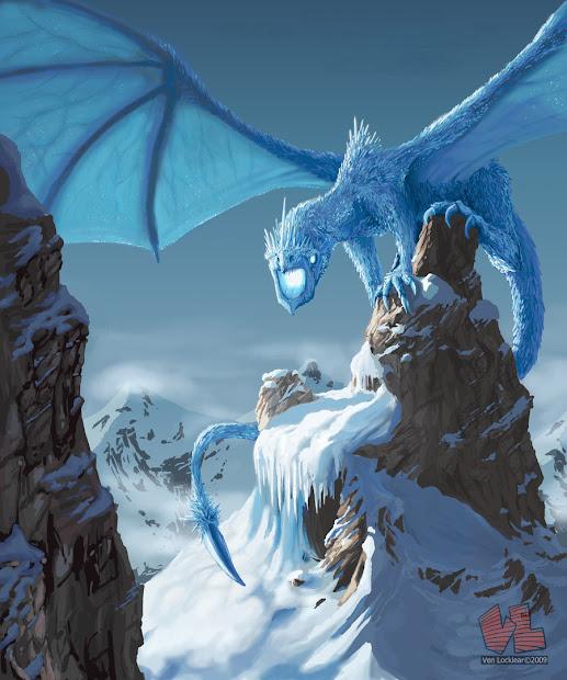 Dragonsfaerieselves&theunseen Ice Dragons - Legend Myth
