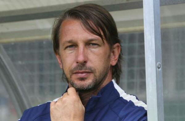 Stefano Vecchi, allenatore Inter Primavera