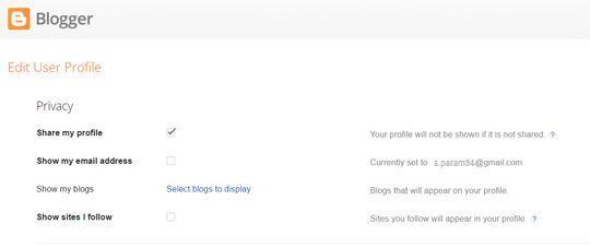 Blogger Profile Editing for Multi Author Bio Box