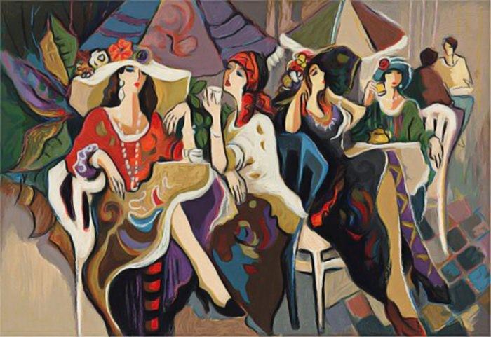 Женщины Парижа