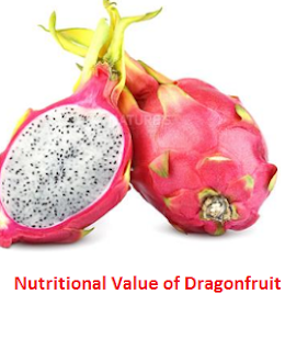 Nutritional Value of Dragonfruit