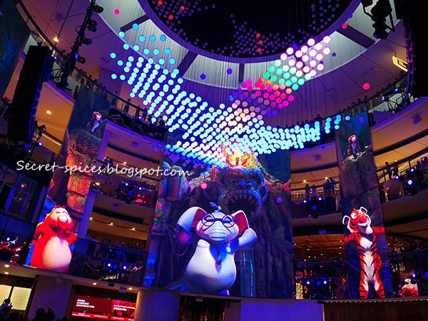 Jungle Jam SkySymphony Show at Resorts World Genting