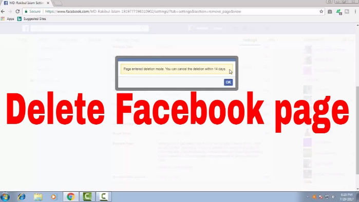 How do you delete a facebook page enspirer facebook feeling hard to erase facebook page on iphone or ipad please go through action by action ultimate guide how do you delete a facebook page ccuart Image collections