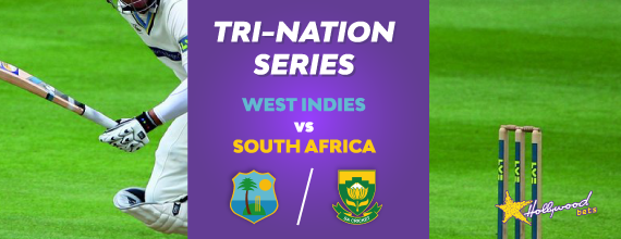 The Tri-Nation Series gets underway this Friday as the West Indies and South Africa go head to head.