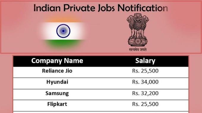 Private Jobs accomplishment For 2019