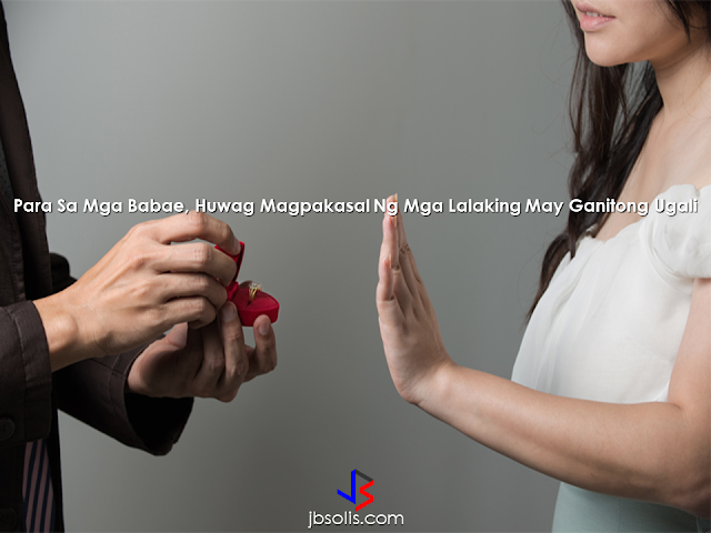 Choosing a lifetime partner is vital. This will determine a successful married life. Choosing a wrong person could be disastrous. The key is to find the right person and this article might help you in making your choice. Which traits should you avoid? 1. Narrow-mindedness A guy who does not trust you completely will always put restrictions on you no matter how loyal you or how much you love him. These conditions will always be there. He will stop you from doing normal things in life, in fear of something bad will happen. It can turn out to be a nightmare! Any guy with such negativity has full potential to ruin your life. It is better to dump such a guy rather than regretting marrying him. 2. Hates animals Any man who hates animals is an animal himself. He lacks empathy! Being allergic is a different thing but hating animals is out of the question. If you have to choose between a guy, who hates animals or your pet. Always choose your pet. Men who hate animal just because they are animals is not worthy of your time. 3. Disregarding relationship rules Every relationship has some ground rules, and if the guy keeps on breaking them, it means he has no respect for you or this relationship. If that guy goes off the line again and again, then it indicates he is not worth your time and love. 4. Breaks promises. If he keeps on breaking promises often, this means he is making a fool out of you. He does not care about what you think or say. If a commitment is broken once in a blue moon, then it can be forgiven. But if he is playing with you then he is not worth it! 5 Gives you secondary treatment. The relationship is all about giving and receiving. If you're the one all your efforts into the relationship, while he is doing nothing your life will be miserable. There is no point in making such connection, sooner or later you will regret your decision of marrying him. 6. Never admits fault. If he consistently thinks that decision he took, every move he made, everything he said can