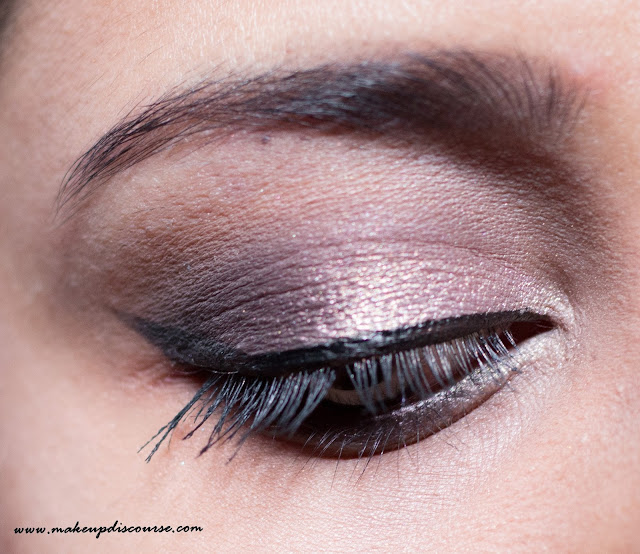 Easy Eyemakeup using Sleek Oh So Special Eyeshadow Palette