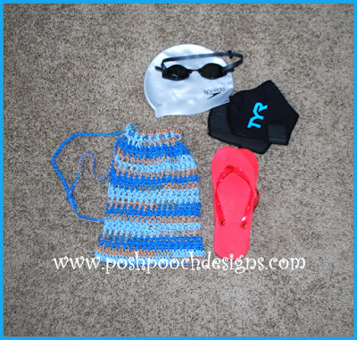 Posh Pooch Designs Dog Clothes: Small Mesh Drawstring Bag ...