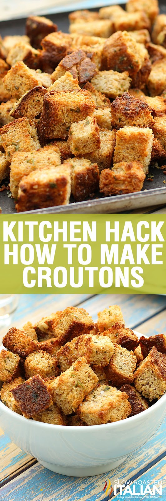 http://www.theslowroasteditalian.com/2012/11/how-to-make-homemade-garlic-croutons.html