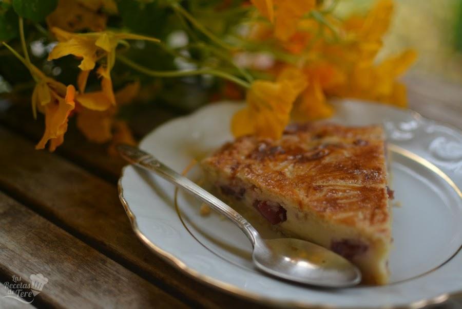 pastel vasco gateau basque con cerezas 01