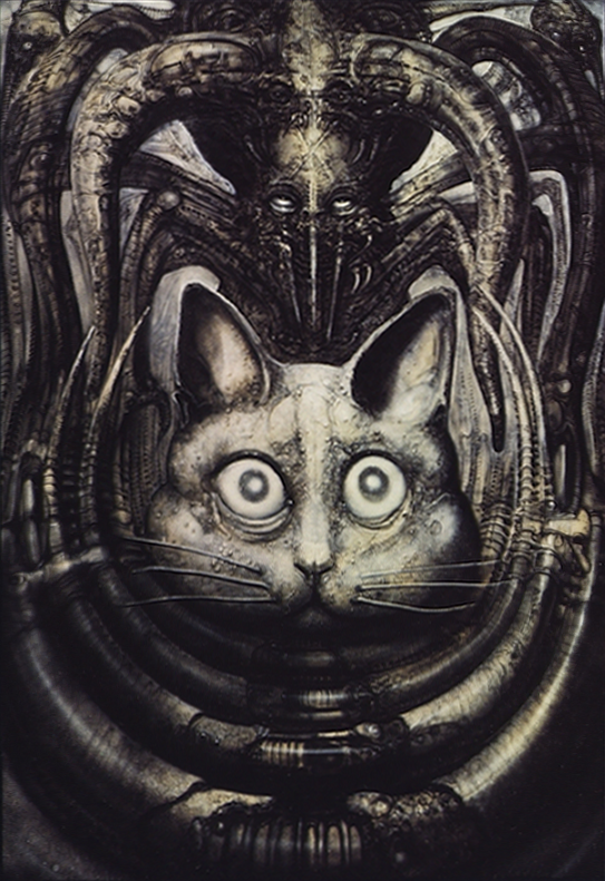 Alien Explorations: Prometheus: Likely inspiration for the ... H.r. Giger Necronomicon