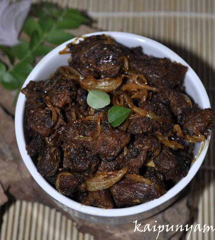Kaipunyam.com: Beef Ulathiyathu