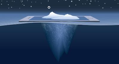 psychoterapia przez internet - wierzchołek góry lodowej