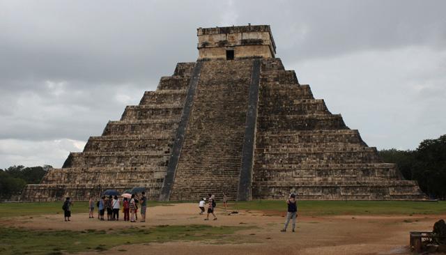 La Pirámide de Kukulkán, en Chichén Itzá