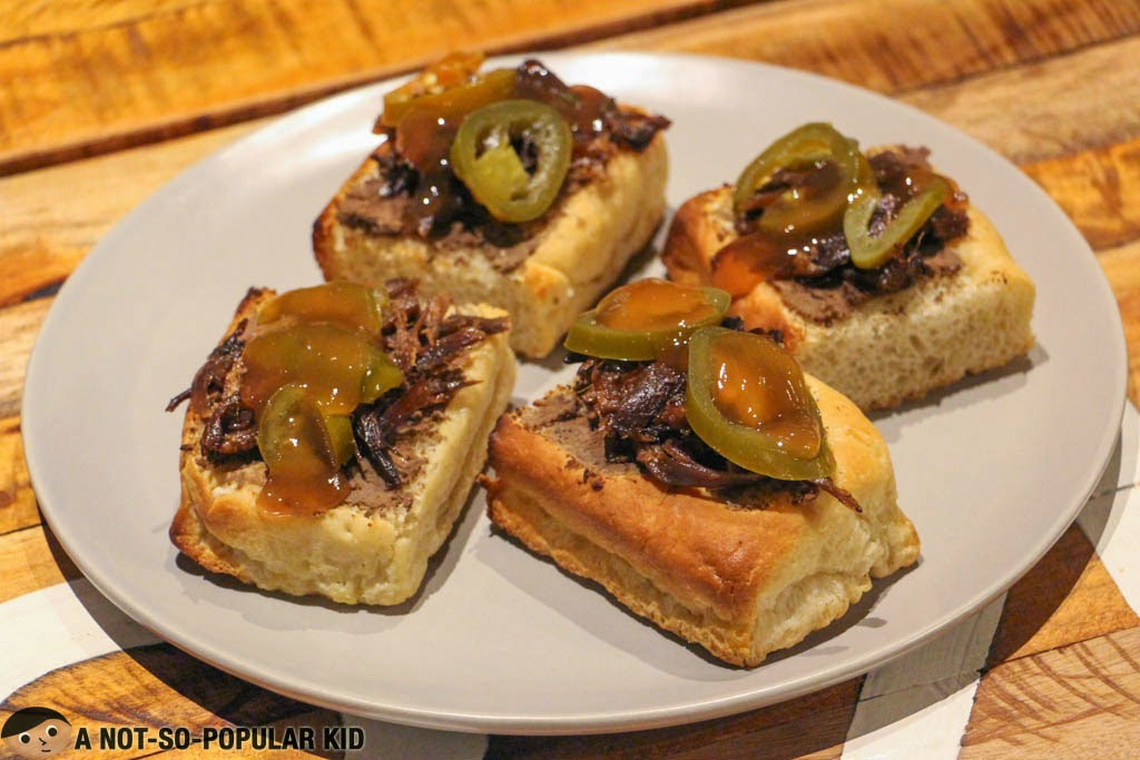 Backyard Kitchen + Brew: Foie Gras on Ciabatta