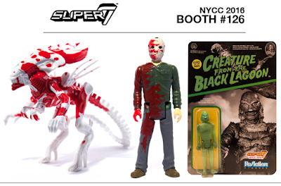 Super7's NYCC 2016 Exclusive ReAction Retro Action Figures – Alien, Friday the 13th & Universe Monsters!